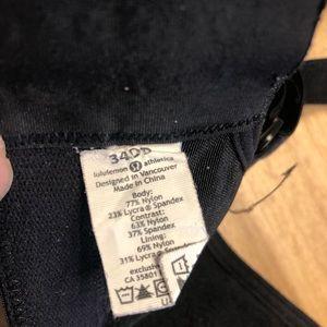 lululemon athletica Intimates & Sleepwear - Lululemon Ta Ta Tamer in Black Size 34DD/34E
